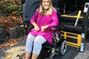 Angela Finds Independence with a New Wheelchair Lift