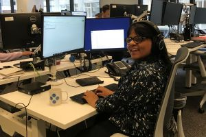 "Shruti is ""excelling at work"" with WorkBC Assistive Technology Services"