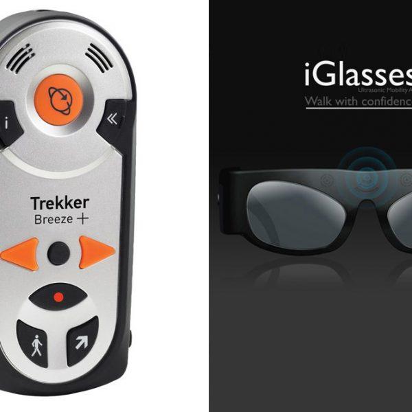 Trekker Breeze+ Talking GPS and iGlasses™ Ultrasonic Mobility Aid