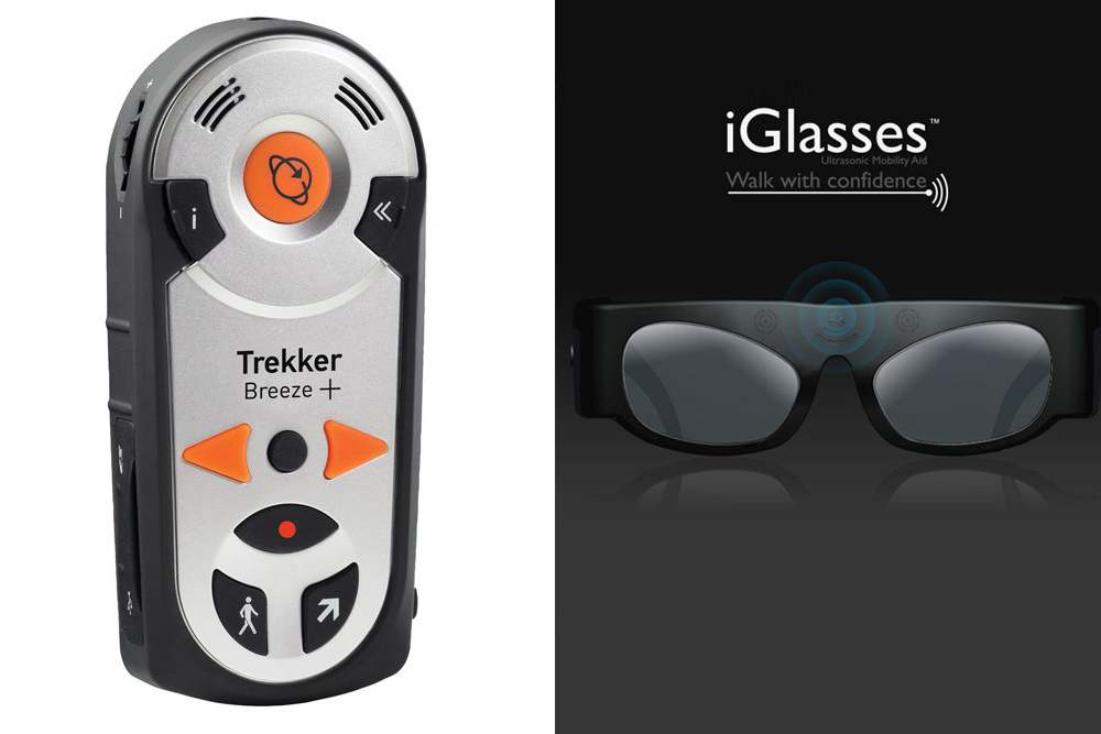 Trekker Breeze+ Talking GPS and iGlasses™ Ultrasonic Mobility Aid