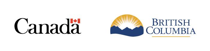 Canada and BC logos