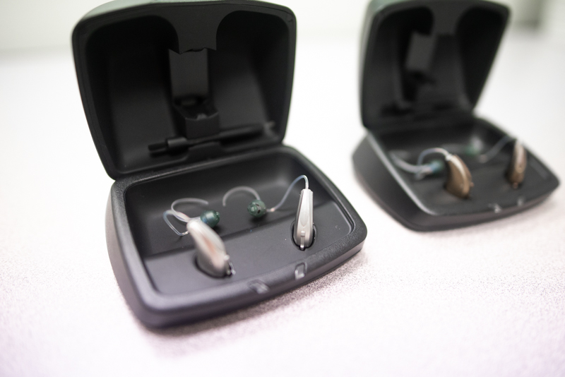 Hearing Aids In Cases